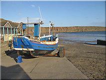 TA1280 : Fishing coble, SH218 Kathryn & Sarah II by Pauline E