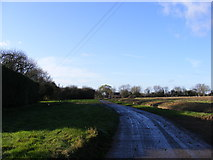 TM2176 : the entrance to Wingfield Green Farm by Adrian Cable