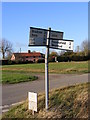 TM2177 : Roadsign on Syleham Road by Adrian Cable
