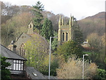 SH5638 : Eglwys St Ioan - St John's Church by Alan Fryer
