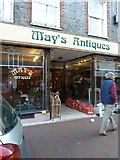 TQ4210 : Cliffe High Street- May's Antiques by Basher Eyre