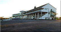 ST5294 : Main stands at Chepstow Racecourse by Jaggery