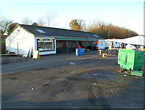 ST5295 : Hog roast unit, Chepstow Racecourse by Jaggery
