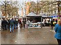 SJ8498 : Piccadilly Gardens, Christmas Market by David Dixon