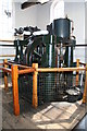 SO4939 : The Waterworks Museum, Hereford - steam engine by Chris Allen