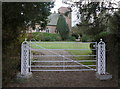SK5919 : Old Rectory garden gate by Alan Murray-Rust
