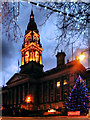 SD7109 : Bolton Town Hall by David Dixon