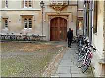 SP5105 : Unassuming Pembroke College, Oxford by Jonathan Billinger