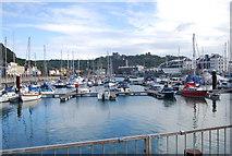 TR3140 : Wellington Docks (Dover Marina) by N Chadwick