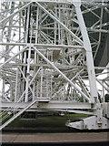 SJ7971 : Detail: Lovell Telescope Jodrell Bank by Peter Turner