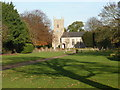TF9123 : Whissonsett: parish church of St. Mary by Chris Downer