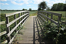 SK8159 : Route 64 over Slough Dyke by Richard Croft
