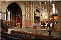 TQ4671 : St John the Evangelist, Church Road, Sidcup - Screen by John Salmon