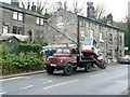 SE0024 : Veteran lorry on Cragg Road at Twist Clough by Humphrey Bolton