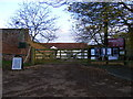 TM2276 : The entrance to Wingfield College & Barns by Geographer