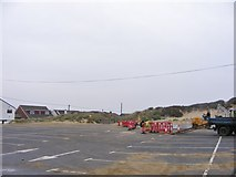 TQ9618 : Beach Car Park by Gordon Griffiths