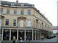 ST7564 : Southern corner of Stall Street and Bath Street, Bath by Jaggery