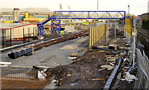 J3271 : New train maintenance depot, Belfast (20) by Albert Bridge
