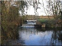 SP5206 : Footbridge by River Cherwell by David P Howard