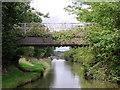 SJ6871 : Davenham Road Bridge at Billinge Green, Cheshire by Roger  Kidd