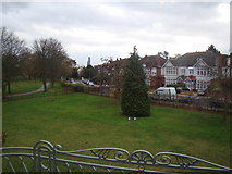 TQ4387 : View of Emerson Road from Valentine's Mansion #2 by Robert Lamb