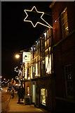TM3389 : Bungay, St Mary's Street at night by Glen Denny