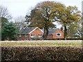 SJ7472 : Sycamore Farm, Sandy Lane by Christine Johnstone