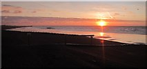 TQ8109 : Sunrise over Pelham Beach by Oast House Archive