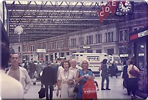 TQ3179 : Waterloo Station concourse (1) by Barry Shimmon