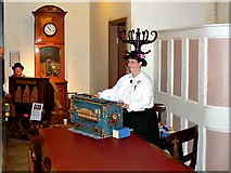 SU1484 : Musical entertainment, Steam Museum, Swindon by Brian Robert Marshall
