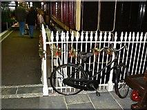 SU1484 : Push-bike, Steam Museum, Swindon by Brian Robert Marshall