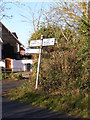 TM2570 : Roadsign on the B1118 by Adrian Cable