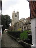TQ8833 : St Mildred's parish church Tenterden by Peter Turner