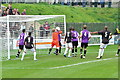 TQ4109 : Football match, the Dripping Pan, Lewes by nick macneill
