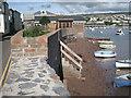 SX9372 : Tidal flood defences, Riverside by Robin Stott
