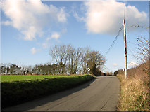 TM1763 : Little London Hill, Debenham by Evelyn Simak