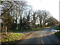 SP0019 : Crossroads at Armscote House by Ian S