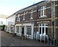 SO2914 : Harry's sandwich bar, Abergavenny by Jaggery