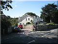 SX9272 : Brook Lane leads off Ringmore Road by Robin Stott