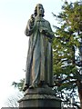 NS7993 : James Guthrie statue, Old Town Cemetery by kim traynor