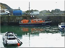 NW9954 : Portpatrick lifeboat in the inner harbour by Ann Cook