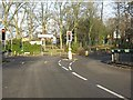 SP0782 : Queensbridge Road traffic lights, Alcester Road (A435) by Peter Whatley