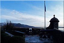 NS4074 : Dumbarton Castle by wfmillar
