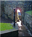 NS3974 : Portcullis Arch, Dumbarton Rock by wfmillar