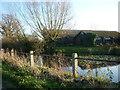 SO7002 : A pond at Pool Farm by Ian S