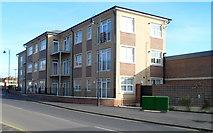 ST8558 : New flats, British Row, Trowbridge by Jaggery