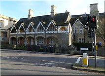 ST8558 : Grade II listed Union Street Almshouses, Trowbridge by Jaggery