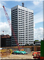 SE3034 : Tower North Central, Merrion Way, Leeds by Stephen Richards