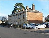 ST8558 : Grade II listed Waterloo Place, Trowbridge by Jaggery