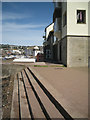 SX9372 : Steps and footpath by Morgans Quay, Teignmouth by Robin Stott